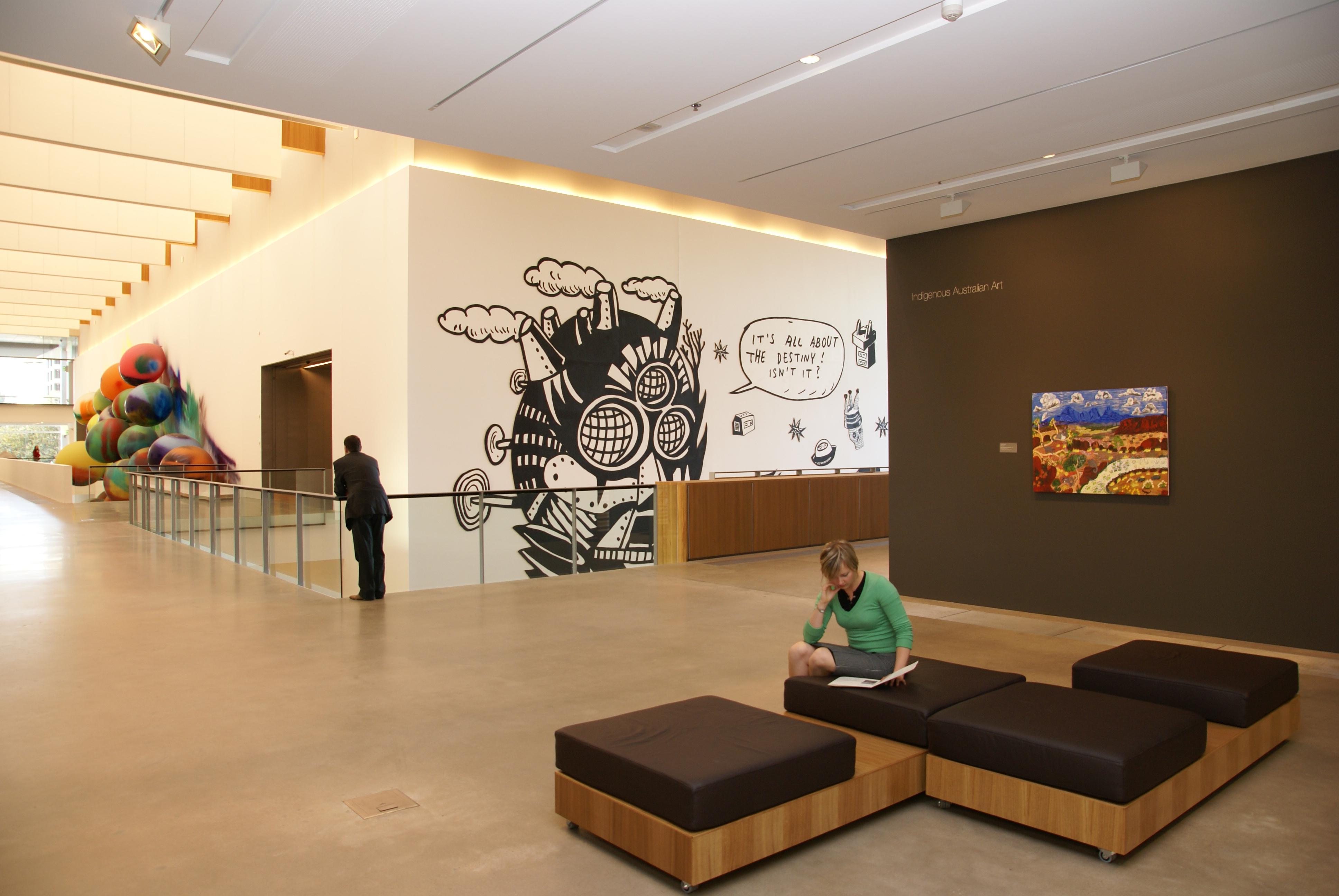 Queensland Gallery Of Modern Art Interior Raylinc Lighting