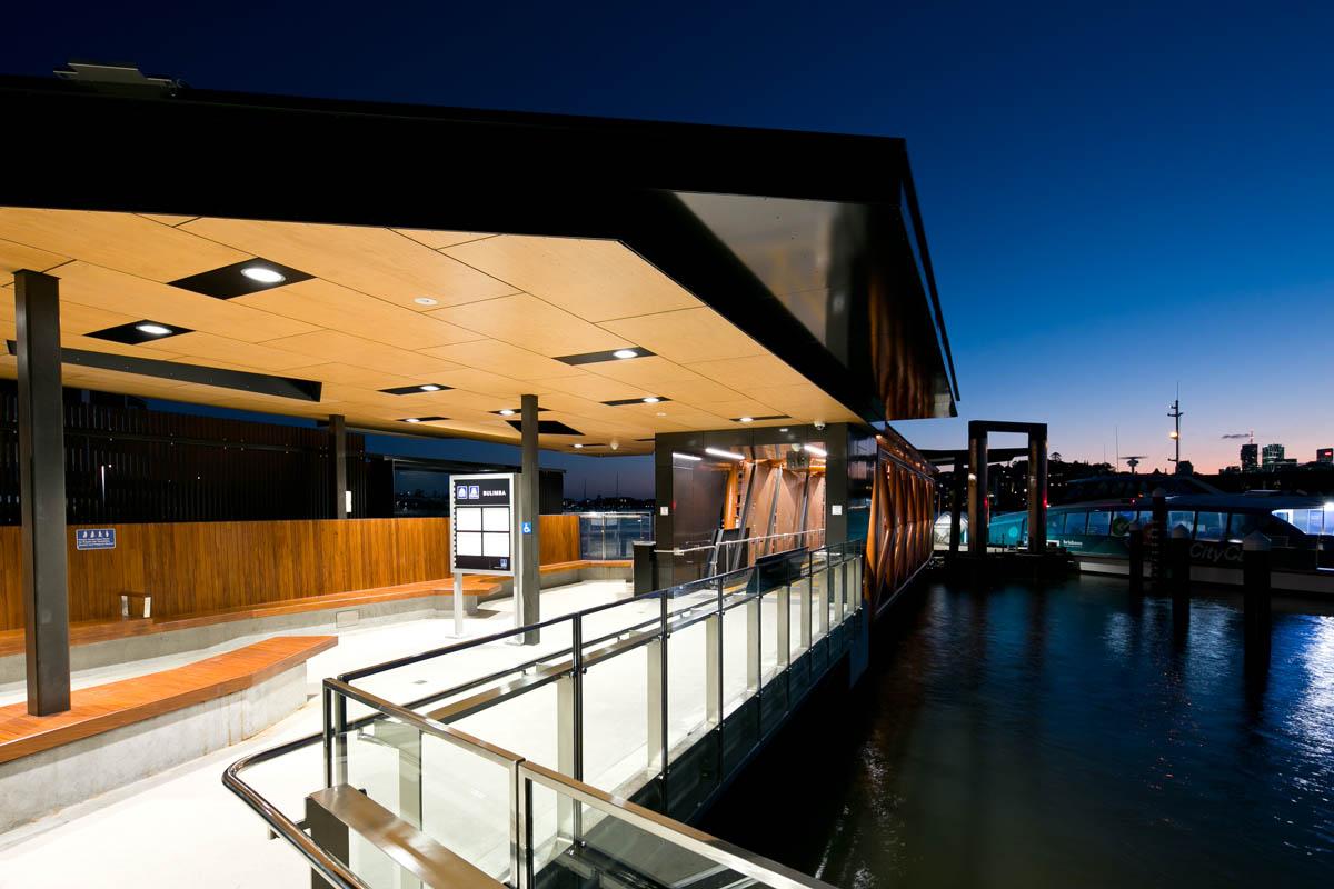 Bulimba Ferry Terminal Raylinc Lighting